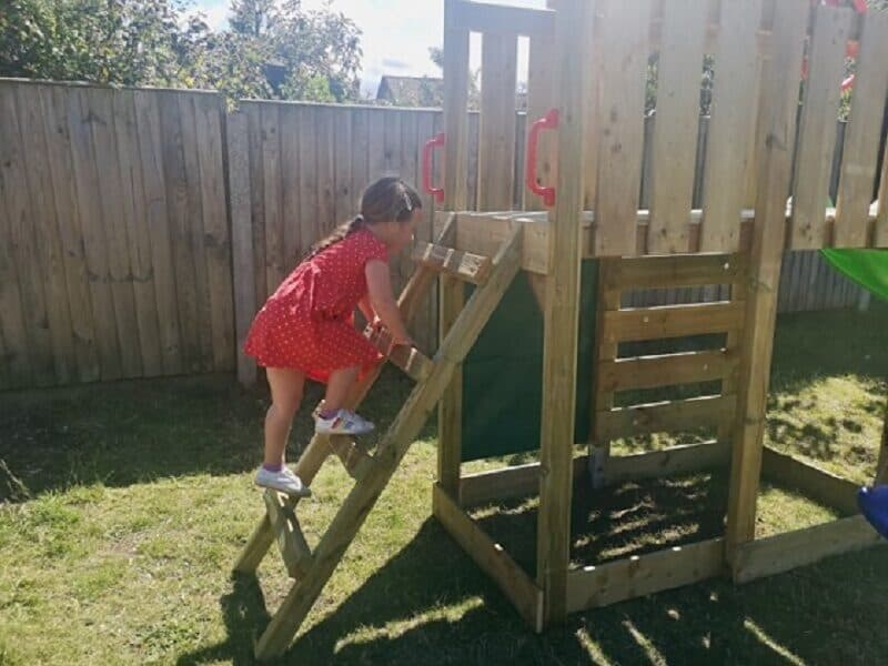 Wickey MultiFlyer DeLuxe Climbing Frame