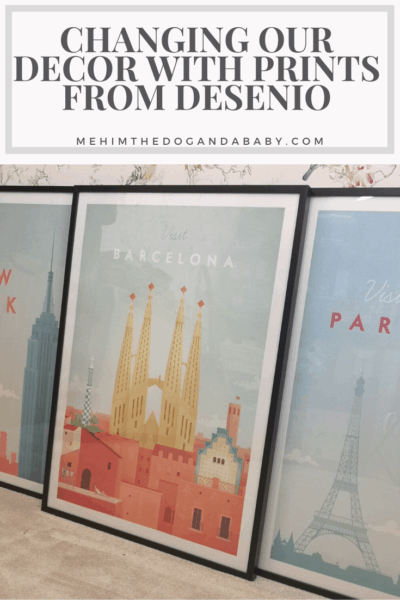 Changing Our Decor With Prints From Desenio