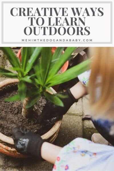 Creative Ways To Learn Outdoors