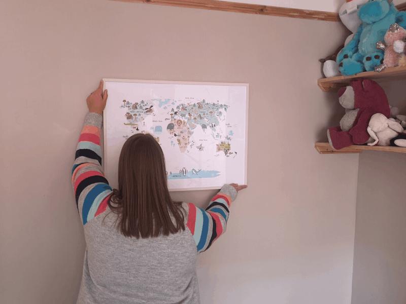 Desenio children's map print
