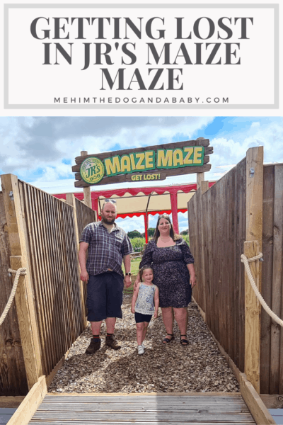 Getting Lost In JR's Maize Maze