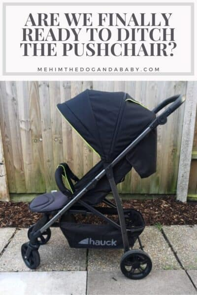 Are We Finally Ready To Ditch The Pushchair?
