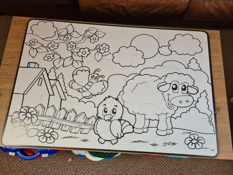 Little Brian Paint Sticks Giant Puzzle