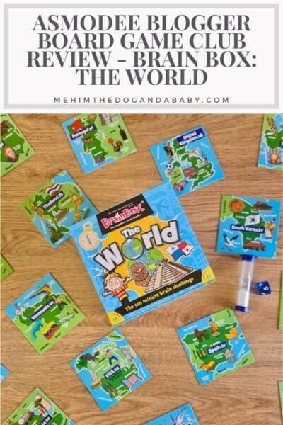Asmodee Blogger Board Game Club Review - Brain Box: The World