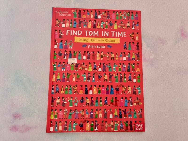 Find Tom In Time Cover
