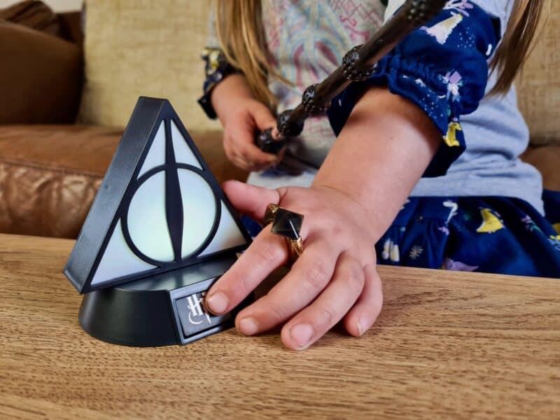 Harry Potter Deathly Hallows light