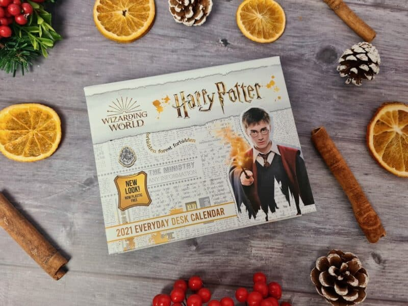 Harry Potter desk block calendar
