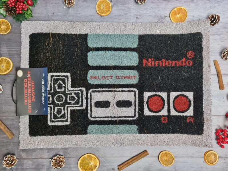 Nintendo controller doormat from Red Candy