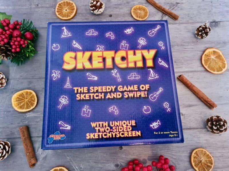 Sketchy drawing game