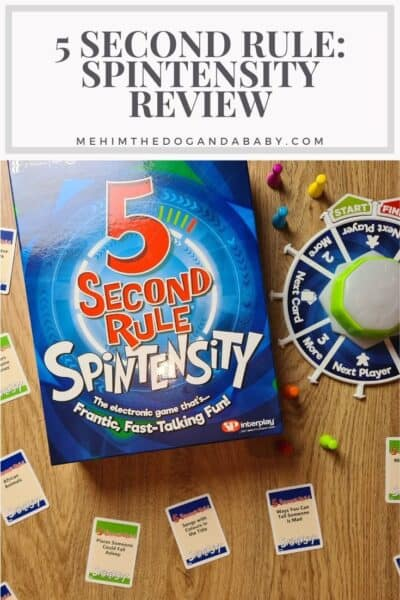 5 Second Rule: Spintensity Review