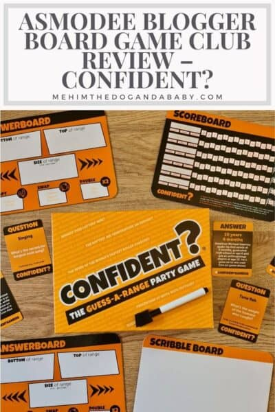 Asmodee Blogger Board Game Club Review – Confident?