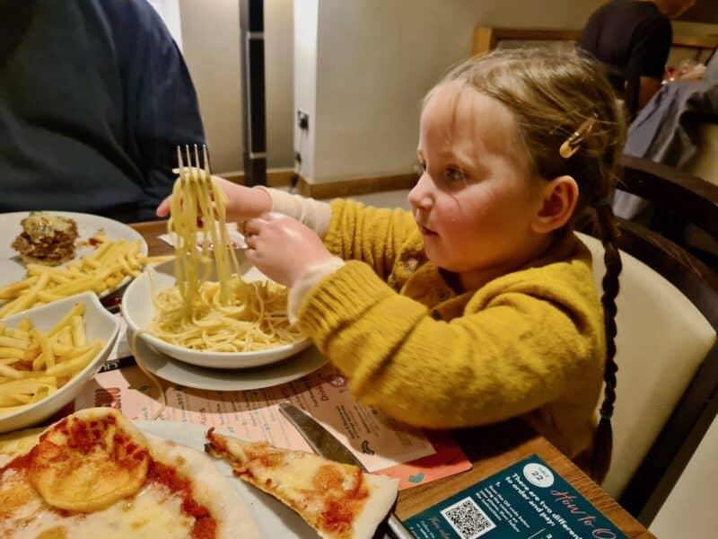 Meal at Prezzo