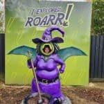 Roarr! Dinosaur Adventure Dippy's Halloween Days