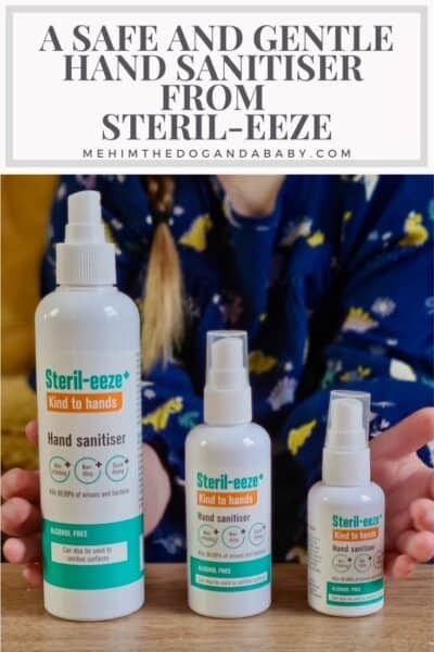A Safe And Gentle Hand Sanitiser From Steril-eeze