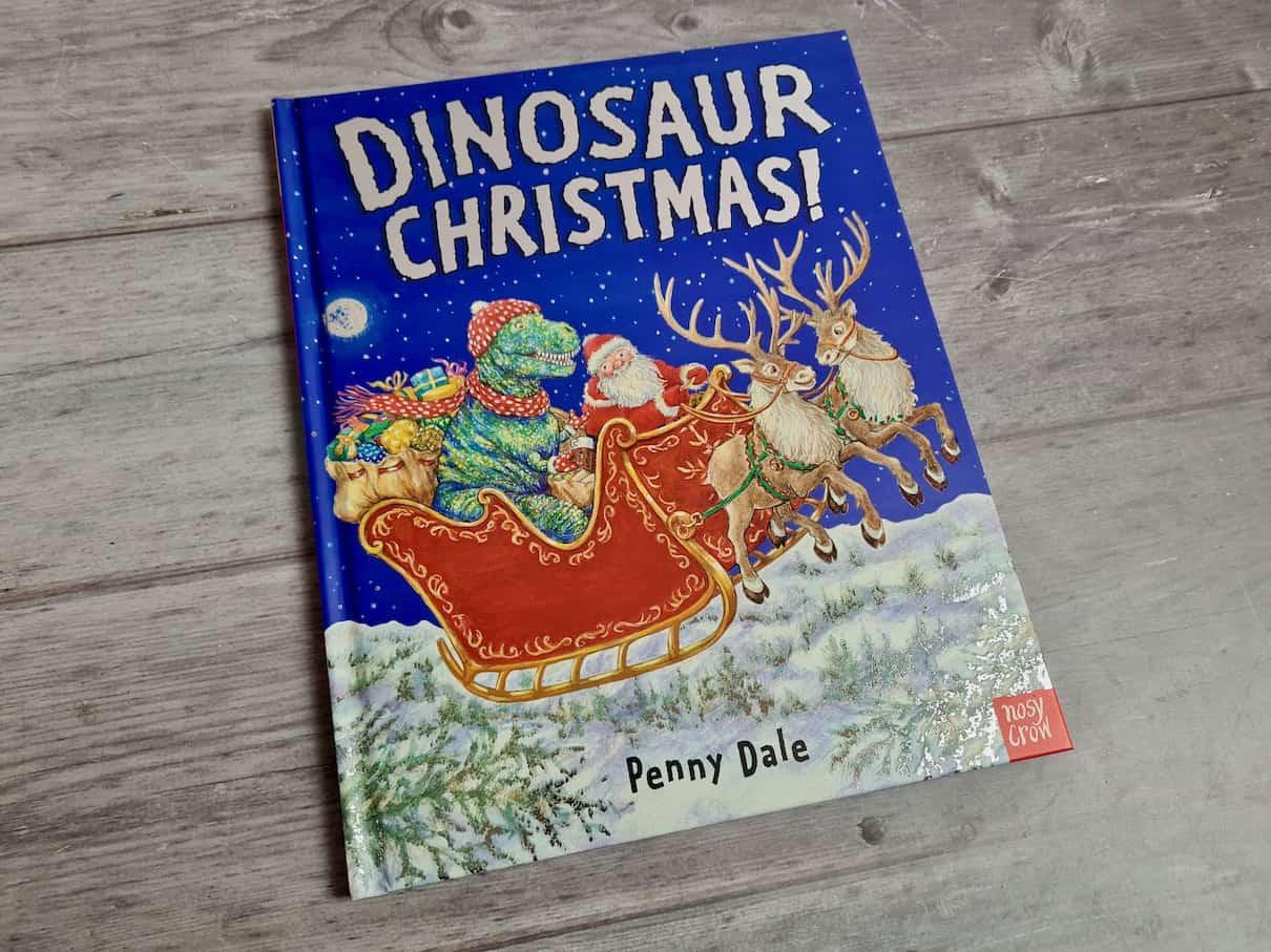 Dinosaur Christmas cover
