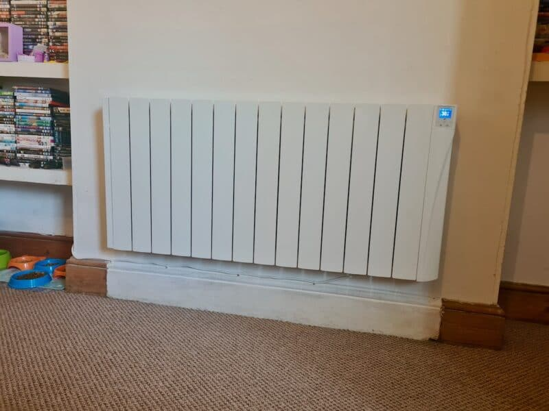 Large electric radiator