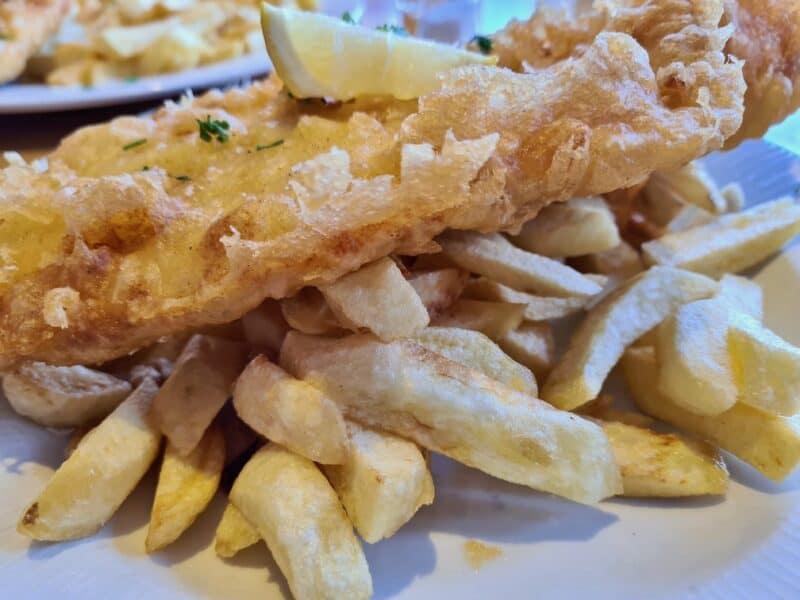 Fish and Chips at No 1 Cromer