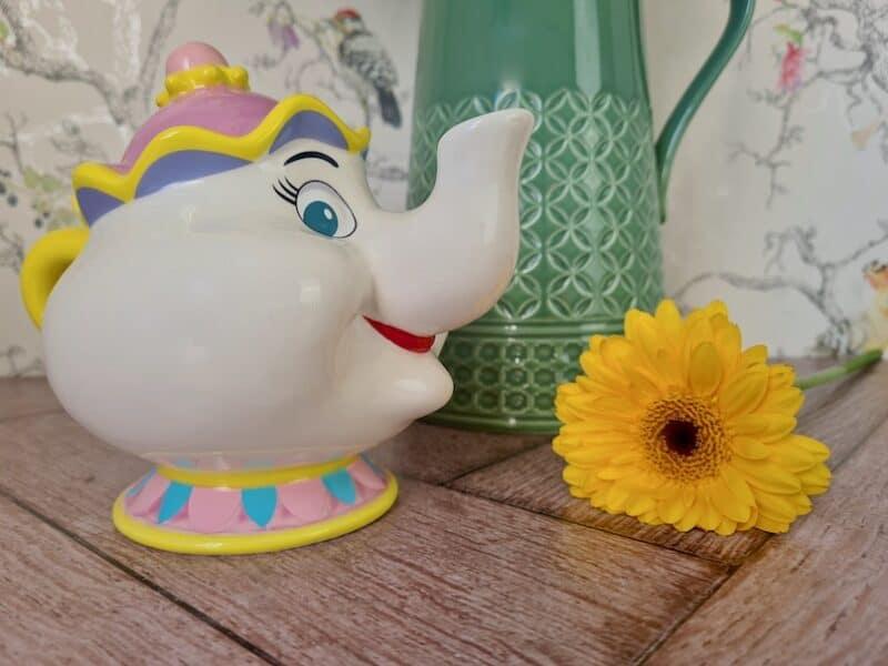 Something There - Mrs Potts Money Bank Figurine by Enchanting Disney