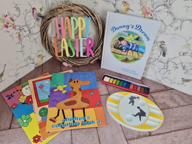 Danny's Dream book and colouring books