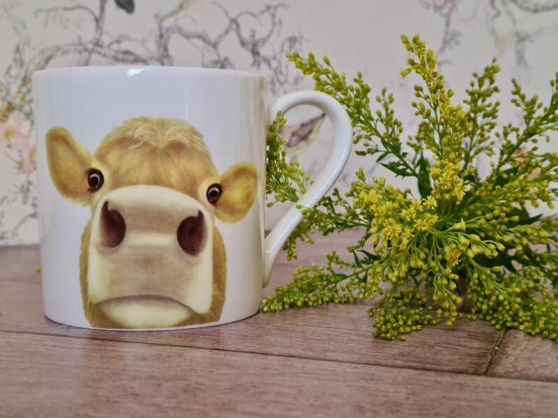 Large moo mug Lucy's Farm