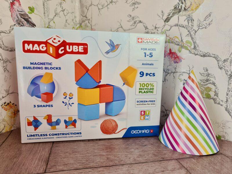 Geomag Magicube magnetic animal shape blocks
