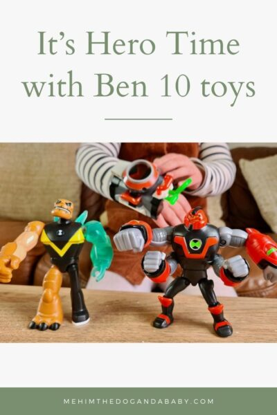 It's Hero Time with Ben 10 toys