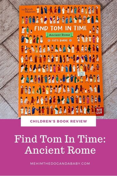 Children's book review: Find Tom In Time: Ancient Rome