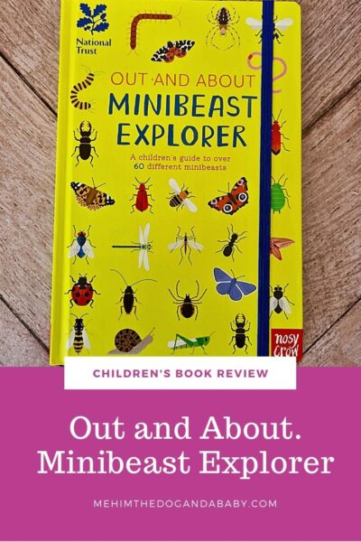 Children's book review: Out and About. Minibeast Explorer