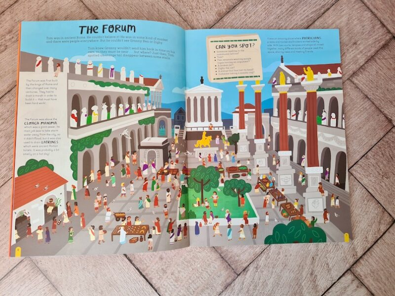 Find Tom In Time Ancient Rome