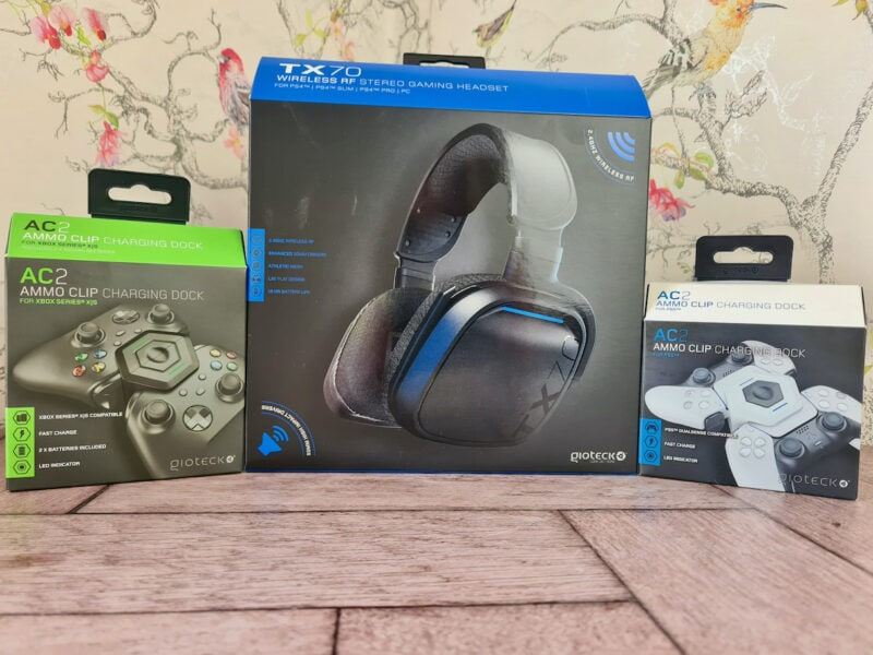 Gaming headset and accessories