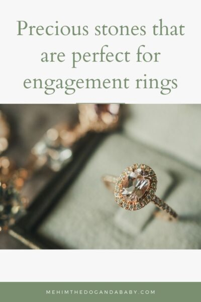 Precious stones that are perfect for engagement rings