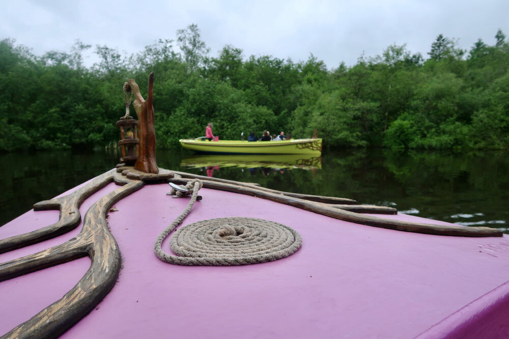 Bewilderwood boat