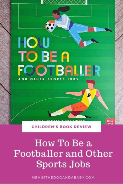 Children's book review How To Be a Footballer and Other Sports Jobs