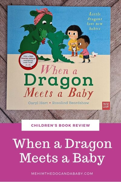 Children's book review When a Dragon Meets a Baby