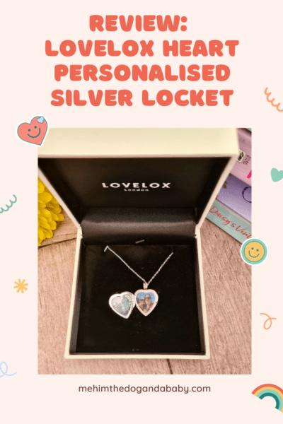Review: LOVELOX Heart Personalised Silver Locket