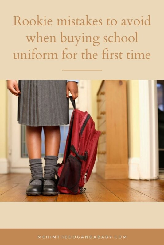 Rookie mistakes to avoid when buying school uniform for the first time