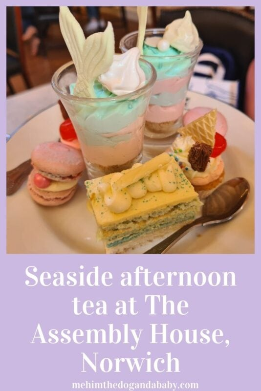 Seaside afternoon tea at The Assembly House, Norwich