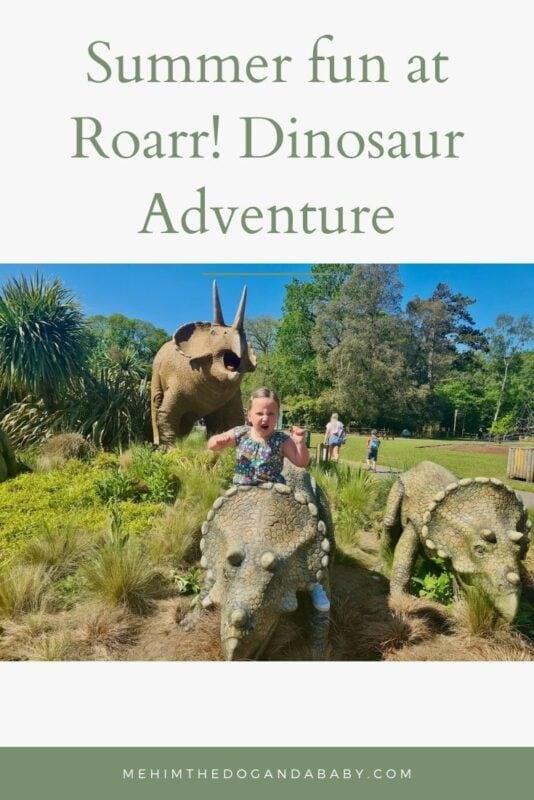 Summer fun at Roarr! Dinosaur Adventure