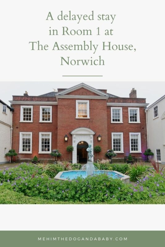 A delayed stay in Room 1 at The Assembly House, Norwich