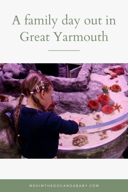 A family day out in Great Yarmouth