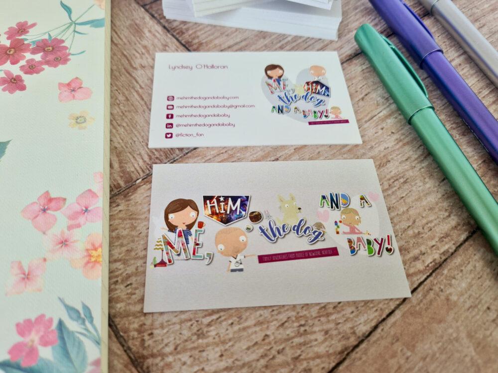 Aura Print business cards
