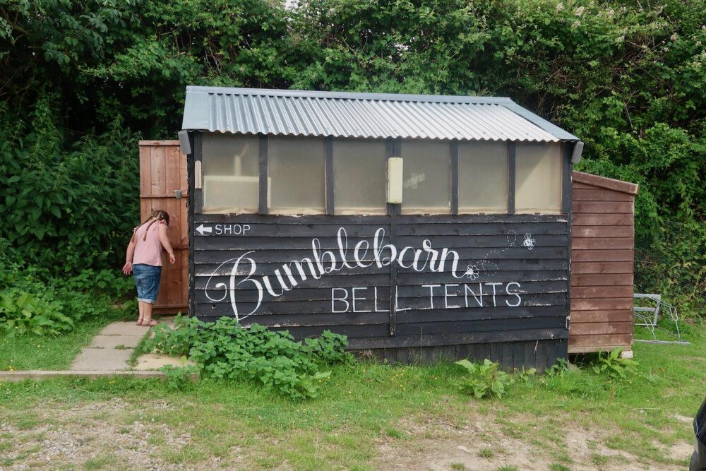 Bumblebarn honesty shop