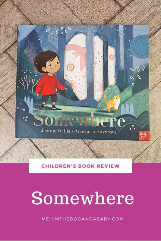 Children's book review Somewhere