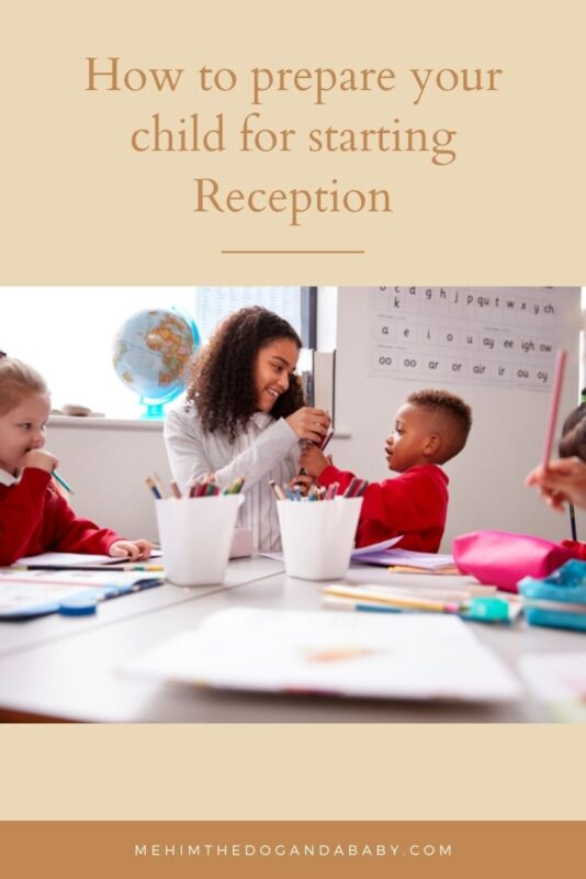 How to prepare your child for starting Reception