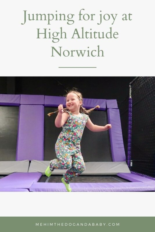 Jumping for joy at High Altitude Norwich