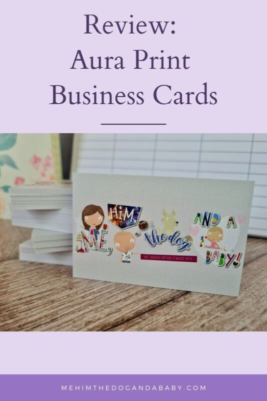 Review: Aura Print Business Cards