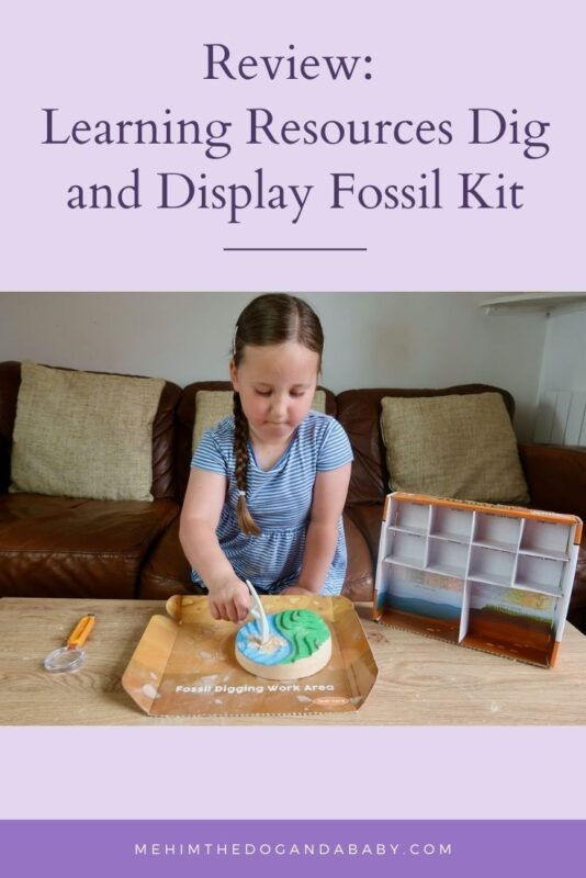 Review: Learning Resources Dig and Display Fossil Kit