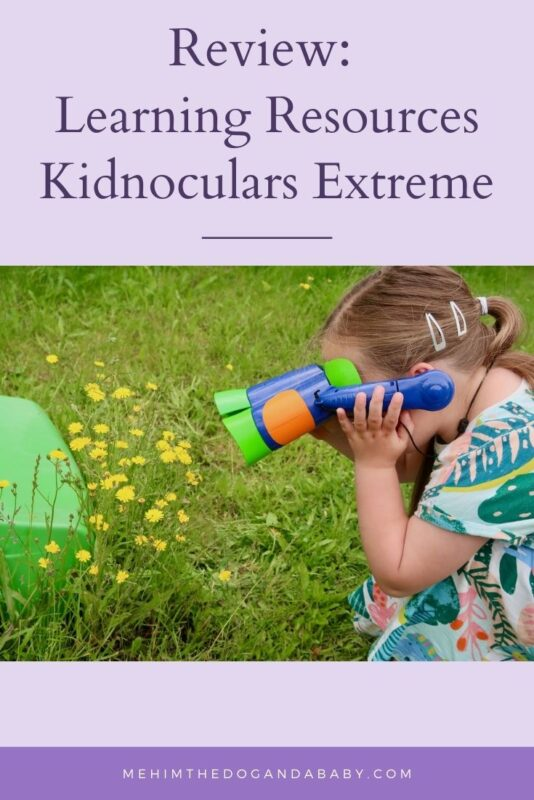 Review: Learning Resources Kidnoculars Extreme