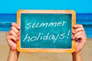 Summer 2021: Our plans for the school holidays