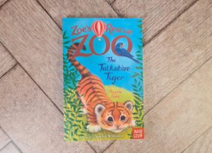 Zoe's Zoo Rescue The Talkative Tiger